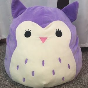 16in Squishmallow holly the owl